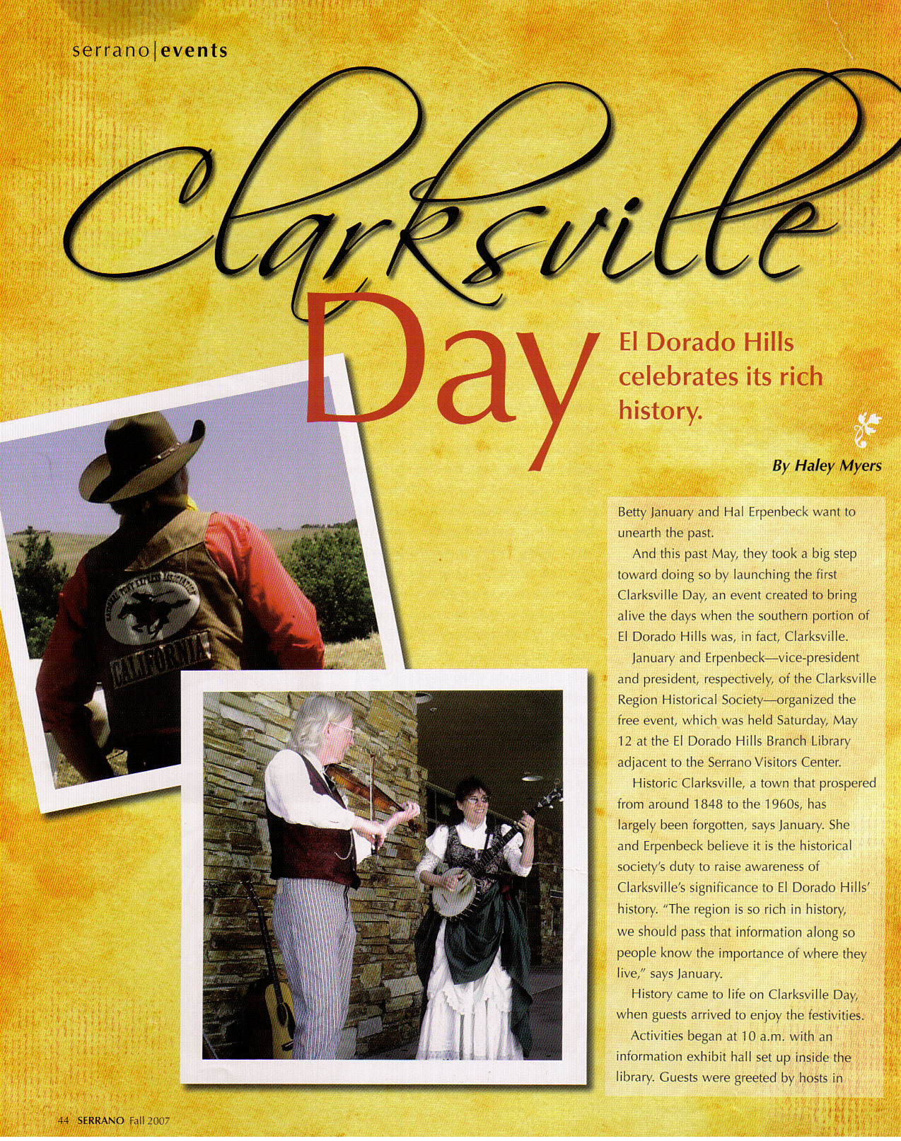 2007 Clarksville Day article