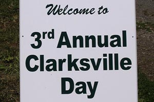 Clarksville Day 2009 Sign