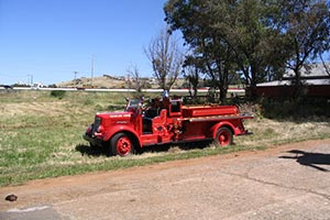 Restored Fire Engine