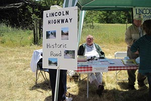 The Lincoln Highway Association table